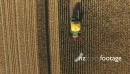 Overhead View of Maize Harvesting HD 24883