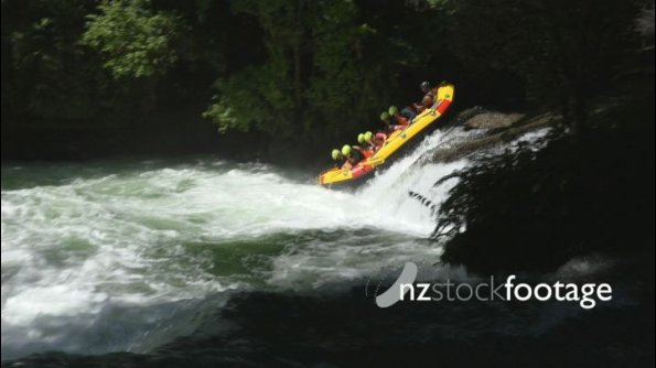 Rafting at Okere Falls 2 24795