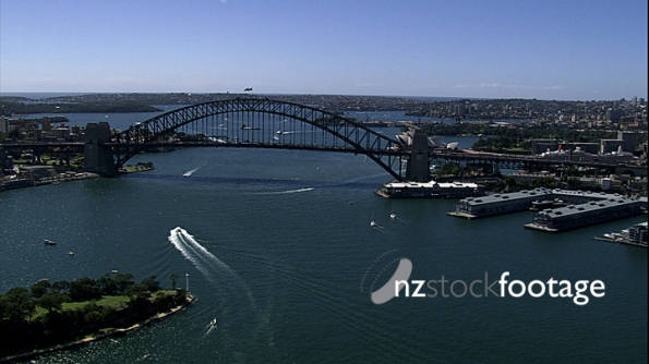Sydney Bridge Opera House Aerial 3 4199