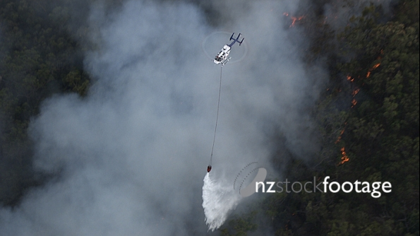 Helicopter Fighting fire 4 4131