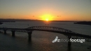Sunset Auckland Harbour Bridge Aerial 2 24716