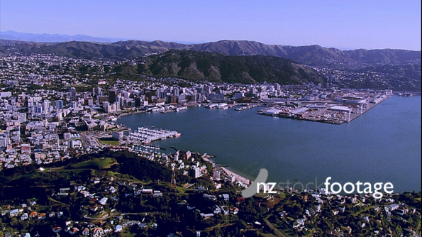 Wellington Mt Victoria City Aerial 3 4503