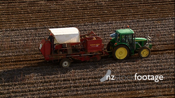 Potato Harvester New Zealand Aerial 2 4141