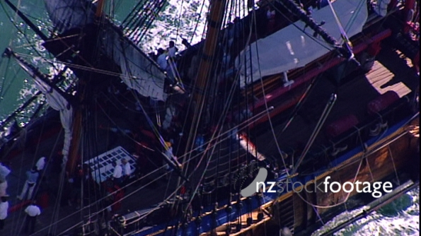 Tall Ships Auckland New Zealand 4 AERIAL 3545