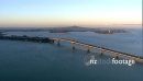 Auckland Harbour Bridge, Rangitoto in Background 2752