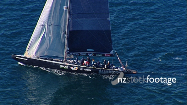 NZL57 Americas Cup Yacht, AERIAL 2697
