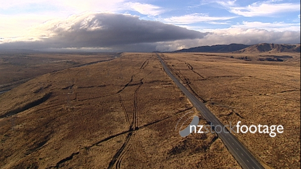Country Road, Aerial 2691