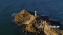 Lighthouse Fly By, Aerial 2625