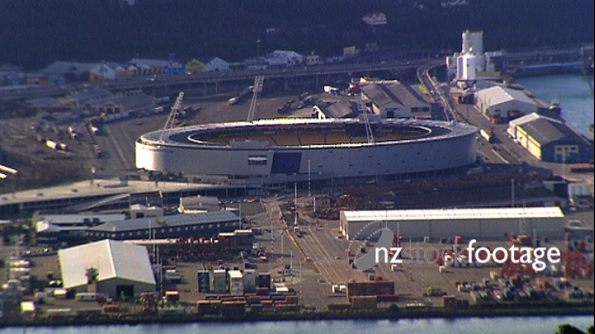 Wellington Westpac Stadium, Aerial 2595