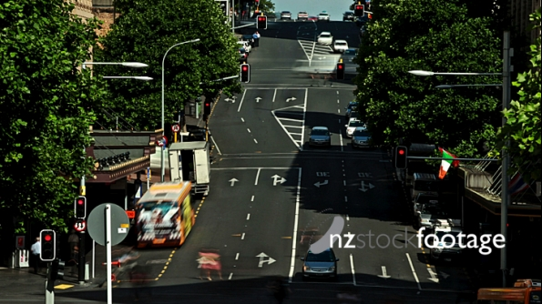 Auckland Busy Street Time Lapse 1 3888