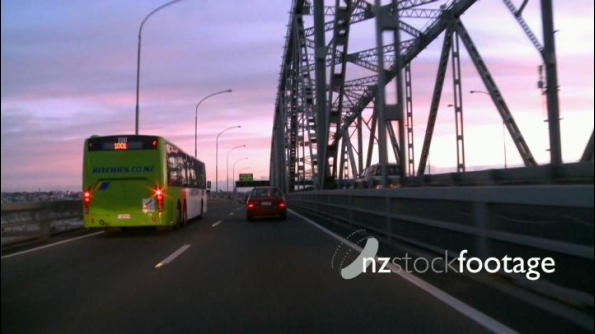 Auckland Harbour Bridge Car POV 1 24665