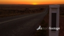 Outback Sunset And Road 3 3791