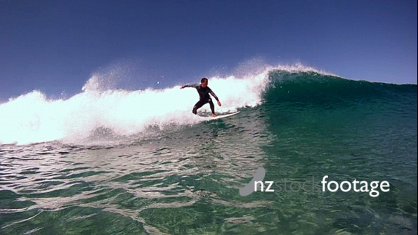 Surfer Filmed in the Sea 2 4580