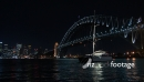 Sydney Harbour Bridge at Night -Australia TL 3773