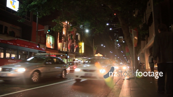 Sydney Street at Night 1 2359