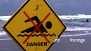 Danger Surf Sign 2 4347