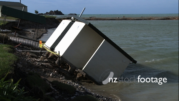 Kairakau Beach Public Toilet Damage New Zealand 2860