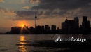 Skyline of Toronto at Sunset, Timelapse 2602