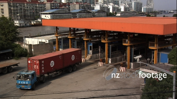 Container Port Trucks, Shanghai 2396
