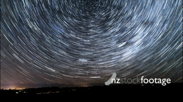 Celestial Southpole Star Trail Timelapse 24858
