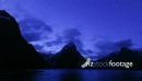 Milford Sound Dusk to Night Timelapse 24870