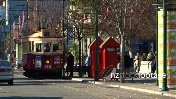 Christchurch Tram & Phone Box 1 939