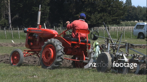 Allis Chambers Tractor and Plough 2905