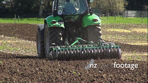 Cultivation Tractor Ploughing  1 24583