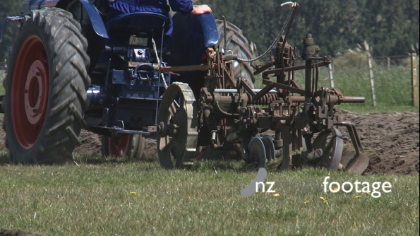 Fordson Tractor and Plough 2904