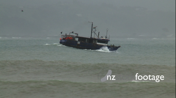 Fishing Boat in Swell 1 3555