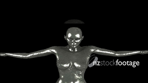 3D Woman Fly 1 1089
