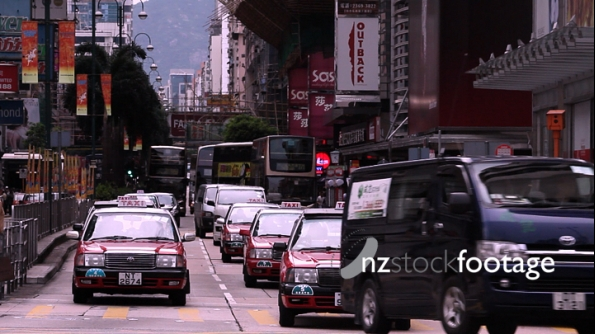 Hong Kong Nathan Road Traffic 2 3065