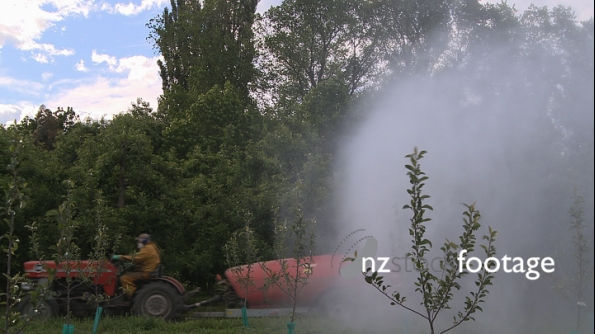 Spraying Pesticides Orchard 1 3586