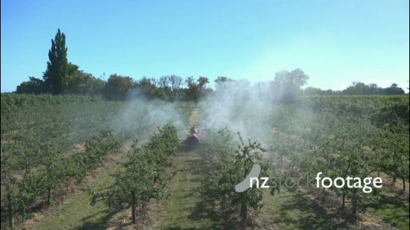 Spraying Orchard Timelapse HD 24777