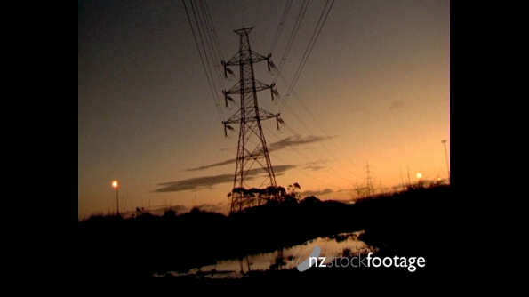 Electric power lines 1 496