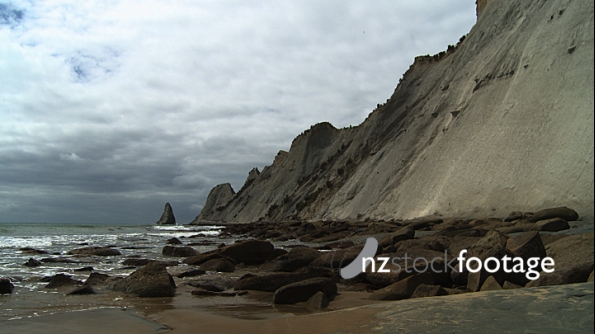 Cape Kidnappers and Beach 3960