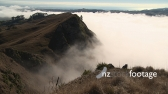 Clouds Clear From Hills New Zealand 1 TIMELAPSE 3968