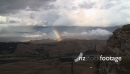 Rainbow through Clouds TIMELAPSE 3975