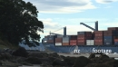 Container Ship Tauranga New Zealand 7 1812