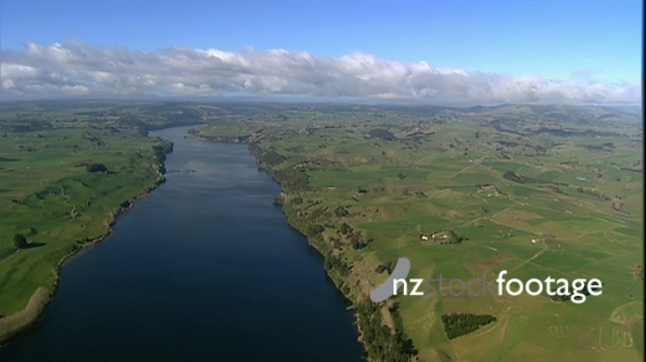 Waikato River Central North Is 2 - AERIAL 3493