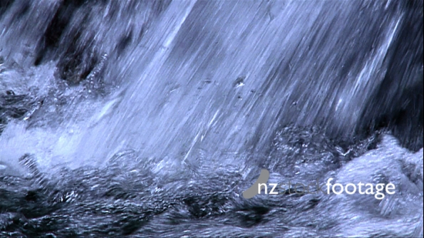 Waterfall Tropical Slow Motion 407