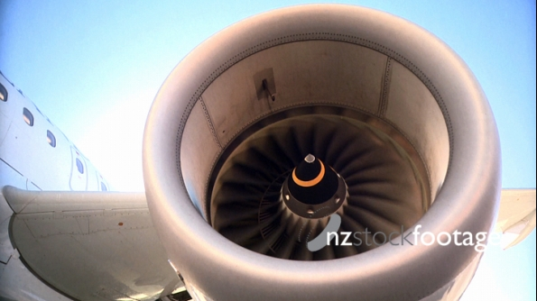 Aircraft Jet Engine 1 3440