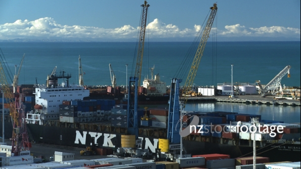 Containers Unloaded 1 TIMELAPSE 1836