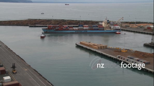 Container Ship Napier 6 TIMELAPSE 1849