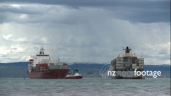 2 Container Ships 1 TIMELAPSE 1856