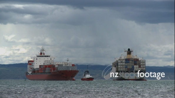 Two Container Ships 2 1857