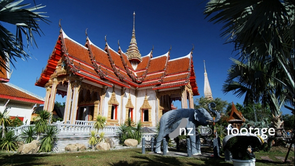 Wat Chalong Buddhist Temple Thailand 1 3370