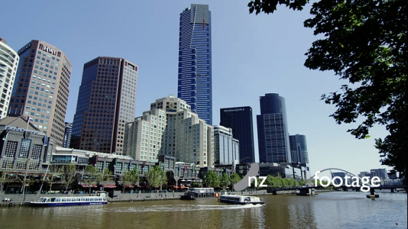Boats on the Yarra River 3506