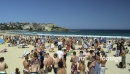 Crowd at Bondi Beach in Sydney 3123