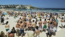 Crowd at Bondi Beach in Sydney 2 3124